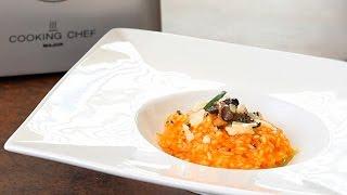 Receta de risotto de setas de temporada