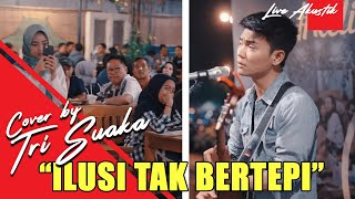 Download video HIJAU DAUN - ILUSI TAK BERTEPI LIRIK BY TRI SUAKA - PENDOPO LAWAS JOGJA
