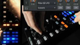 Native Instruments - Traktor Kontrol X1 - Tutorial - Beat Masher - 2 Plus LFO Filter (Part 4 of 7)