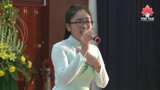 Mẹ Hiền Của Tôi - Thiện Nhân biểu diễn tại Chùa Hội Đức - Vĩnh Long