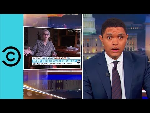 Trump Launches Sexual Assault Awareness Month - The Daily Show   Comedy Central