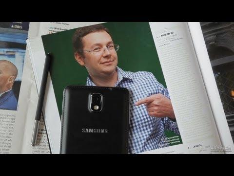 Обзор смартфона Samsung Galaxy Note 3 (первый в мире полноценный видеообзор!)