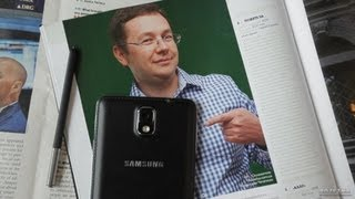 видео Распаковка Samsung Galaxy Note 3 в черном цвете (unboxing)