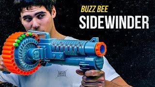 Buzz Bee Sidewinder - szybszy niż Nerf Rampage? - recenzja nerfoteka.pl