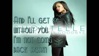 Say Hello To Goodbye Shontelle Lyrics