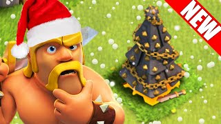 "Clash of Clans - ""Removing NEW 2015 Christmas Tree!!"" NEW 2015 Christmas Update!! CoC XMAS TREE!!"