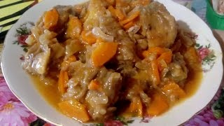 Диета и эконом вариант !!! Сочная вкусная тушеная рыба с овощами !!!
