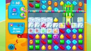 Candy Crush Soda Saga Level 244 No Booster HARD CANDY STRING