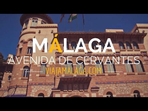 Avenida de Cervantes , Centro Histórico de Málaga - Viaja Málaga