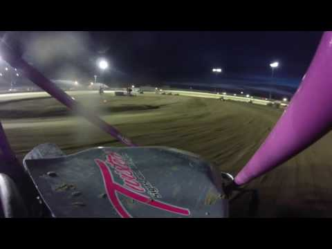Clay County Fair Speedway - Miniakota Micro Sprint Series - NonWing Feature Part 2 - 5.27.16