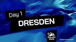 Day 1 | World Cup Dresden 2020 | #ShortTrackSkating