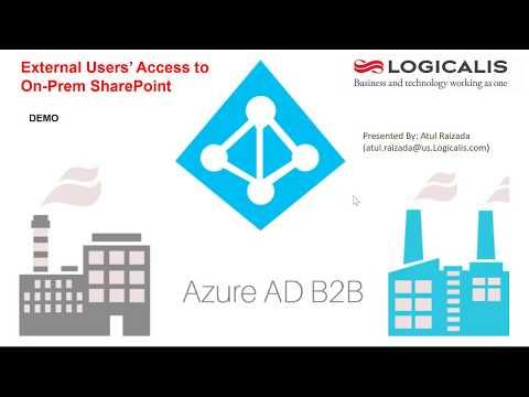 Azure B2B for On-Prem SharePoint External User Access