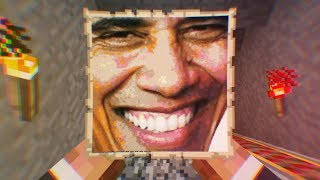 We banned Obama from our Minecraft server