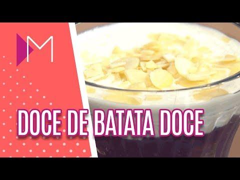 Doce de Batata Doce - Mulheres (09/05/18)