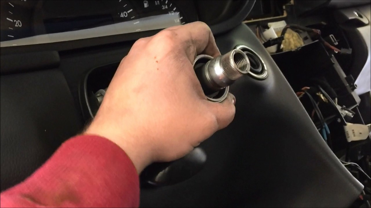 how to fix mercedes steering column turn signal loose w203 [ 1280 x 720 Pixel ]