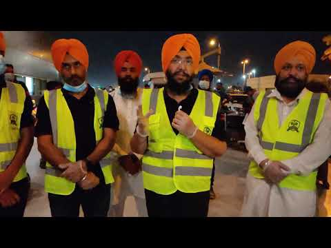 Guru Nanak Darbar Gurudwara charters first flight to Punjab