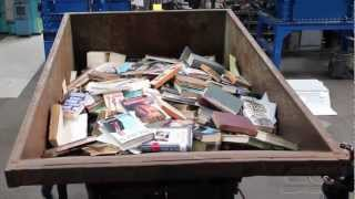 PAPER SHREDDING: Books (D)