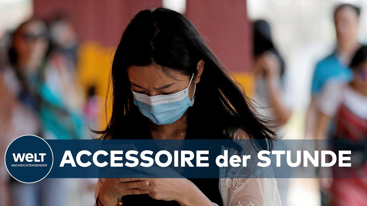 WELT THEMA: China-Virus - Welche Atemmaske bietet tatsächlich Schutz
