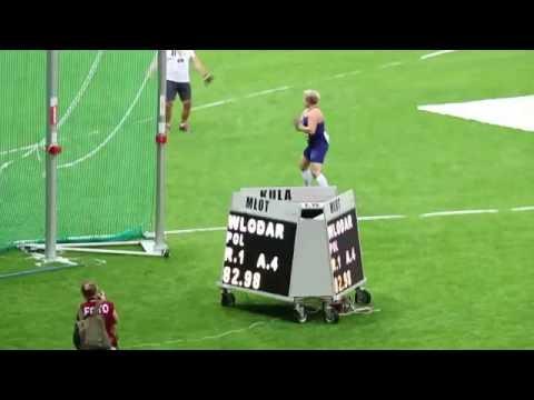 World Record - hammer throw - 82.98 m - Anita Włodarczyk - 28Aug2016 - Warsaw