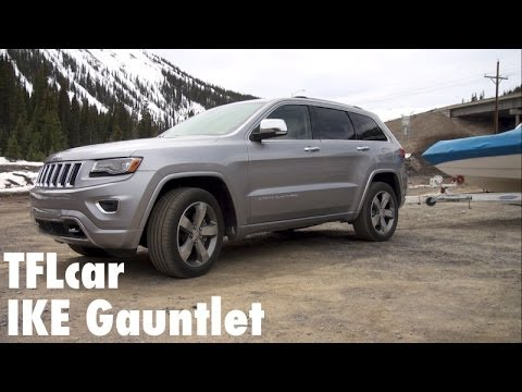 2014 Jeep Grand Cherokee Diesel Takes On The Extreme Ike Gantlet Towing Test