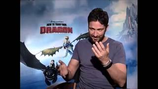 Gerard Butler Funny with Bonnie Interview *Part 3*