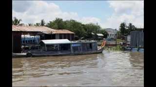 Tien river - My Tho & Ben Tre - Vietnam