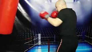 Мини урок бокса 10. Совмещение ударов.