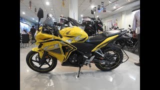 New 2018 Honda CBR 250R Pearl Sports Yellow WalkAround Review