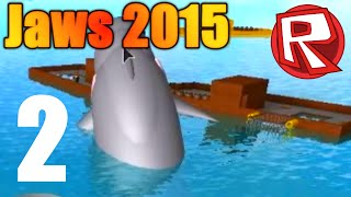 [ROBLOX: Jaws 2015] Lets Play Ep2 w/ Friends - RPG and Hovercraft