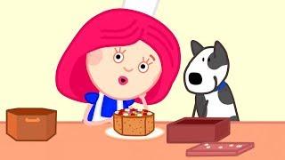 Kinder Cartoon - Smarta backt einen Kuchen - Zeichentrick mit Kinderlied