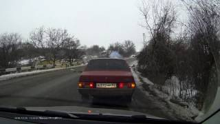 ДТП с фурой в Новопавловке
