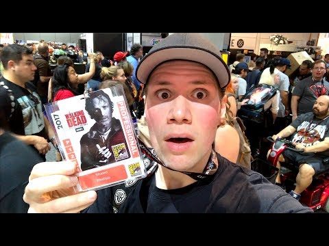 San Diego Comic Con 2017 : Blu-ray and Toy Hunting Adventure