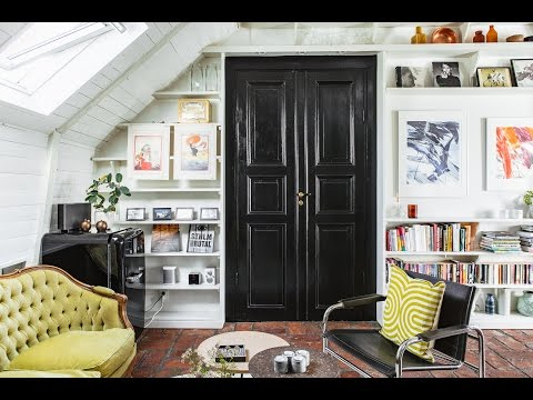Rustic & Retro Style In Scandinavian Apartment, Stockholm 🍍