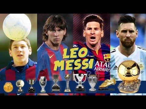 Los mayores logros de Messi cada año durante toda su carrera hasta ahora