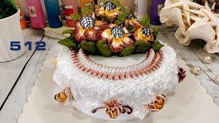 flower sunflower socola cake - Bánh hoa hướng dương Socola (512)