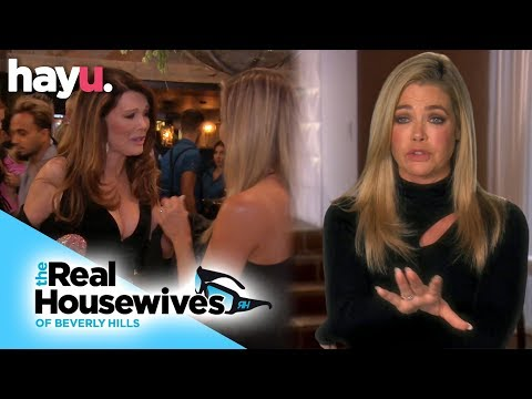 Denise Richards Comforts Vanderpump After Puppy Gate | Season 9 | Real Housewives Of Beverly Hills