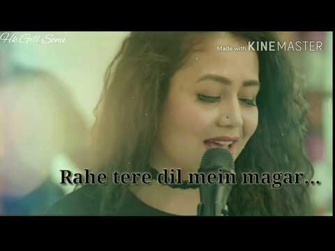 💕Tujhe Chaha Rab Se Bhi Zyada    Maahi Ve    Neha Kakkar Song Whatapp Status Video 💖💖