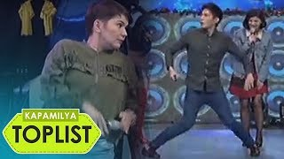 "Kapamilya Toplist: Funniest ""Taga Saan Ka"" challenges of Kapamilya celebrities in It's Showtime"