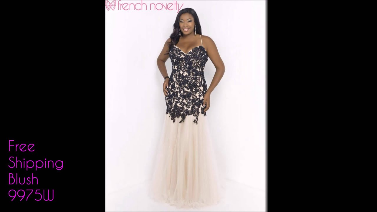 Plus Size Prom Dresses 2015 - YouTube