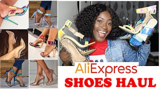 AFFORDABLE ALIEXPRESS SHOE HAUL| #Aliexpress #Haul || @HettyAmens