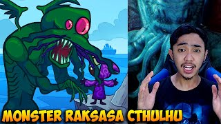DIMAKAN MONSTER RAKSASA CTHULHU - TROLLFACE QUEST SILLY TEST 3 INDONESIA