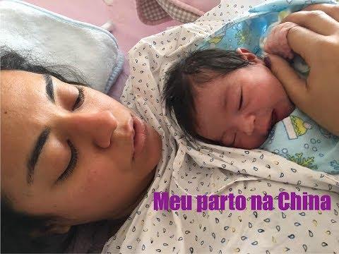 MEU RELATO DE PARTO NA CHINA   Raquel Moraes