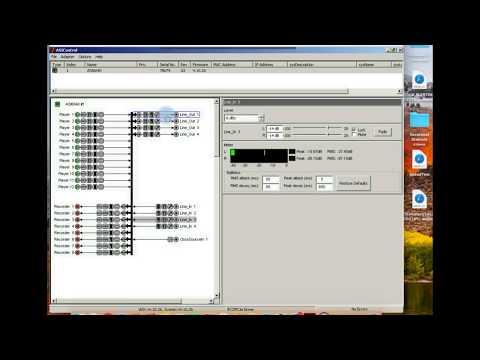 BSI Simian Mixer ASI Card Configuration
