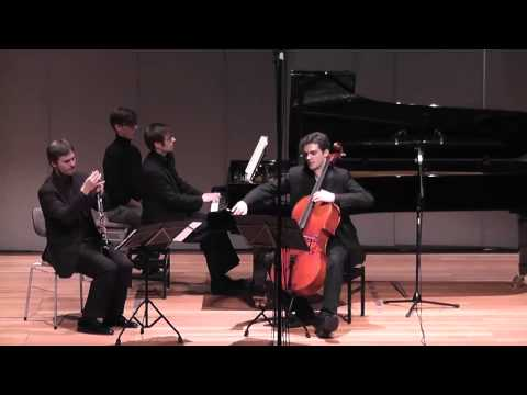 Brahms Clarinet Trio 4th Mvt (Sebastian Manz, Charles-Antoine Duflot, Martin Klett)