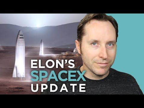 Elon Musk's 2017 SpaceX Update For Mars | Answers With Joe