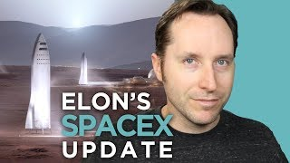 Elon Musk's 2017 SpaceX Update For Mars   Answers With Joe