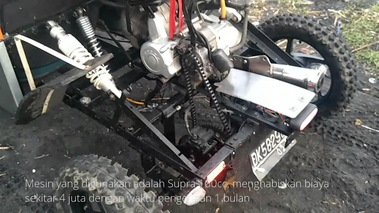Download 84 Modifikasi Motor Matic Jadi Mobil Terbaik Dan