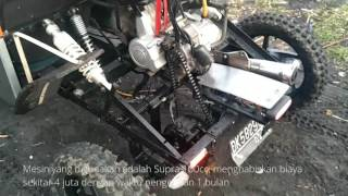 "Download Video Xtreme modification "" supra 100cc dirubah jadi mobil"" MP3 3GP MP4"