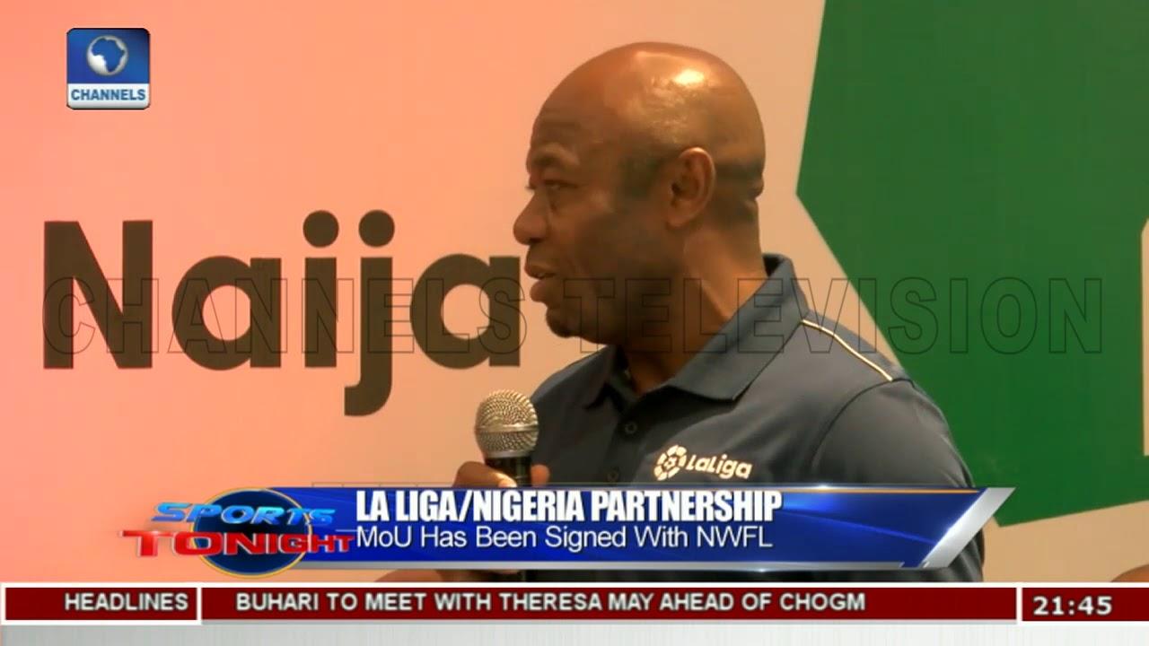 Discuss On La Liga/Nigeria Partnership   Sports Tonight  