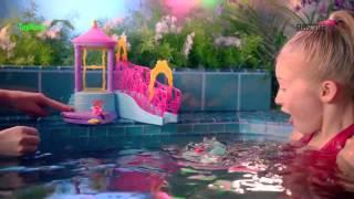 Disney Princess   Water Palace Bath Playset & Petal Float Princess Doll